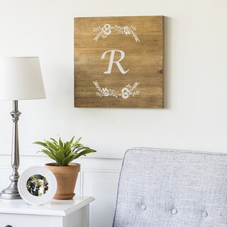 """Personalized 16"""" Rustic Wood Sign"""
