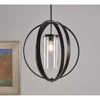 Roxy Bronze 1 Light Pendant