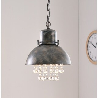 Aniston Corroded Metal 1 Light Mini Pendant