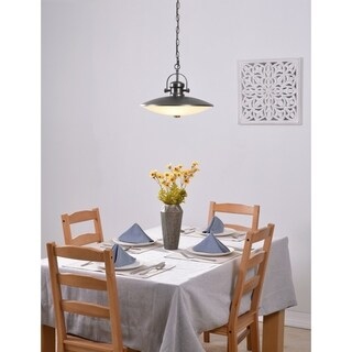 Tucson Gunmetal 3 Light Pendant