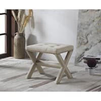 Best Master Furniture 621 Upholstered Accent Bench