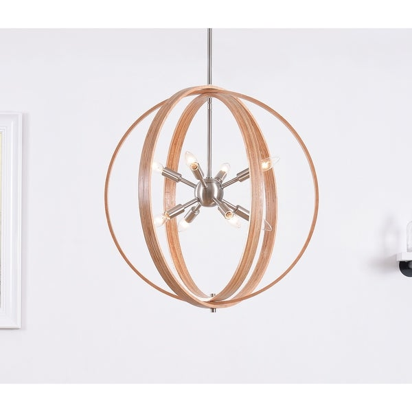Palm Bronze 8 Light Pendant