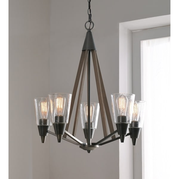Shop apex aged metal 5 light chandelier free shipping today apex aged metal 5 light chandelier aloadofball Choice Image