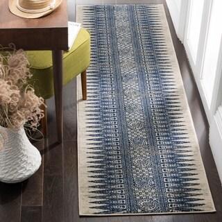 Safavieh Evoke Ivory/ Blue Rug - 2' 2 x 11'