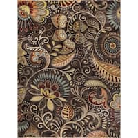 Alise Caprice Contemporary Abstract Area Rug - 9'3 x 12'6