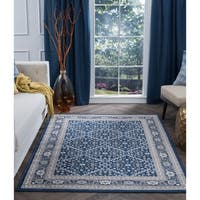 Alise Rugs Carrington Traditional Oriental Area Rug