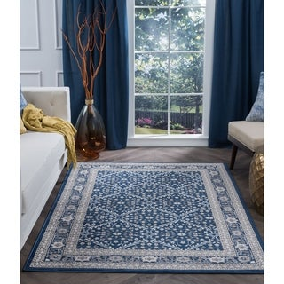 Alise Rugs CarringtonTraditional Oriental Area Rug - 5' x 7'