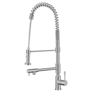 Waterhaus Stainless Steel Commercial Kitchen Faucet