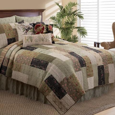 Juniper Rustic Cotton Quilt Set