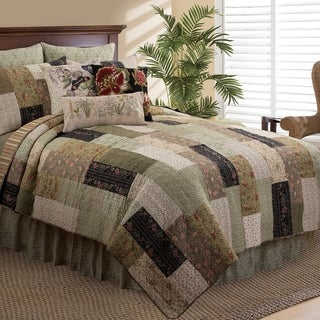 Juniper Rustic Cotton Quilt Set