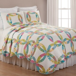 Emma's Wedding Ring Twin 2 Piece Quilt Set