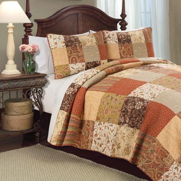 Crispin Rustic Cotton Quilt Set