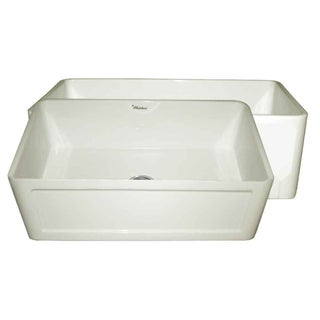 Whitehaus CollectionFront Apron Fireclay Sink