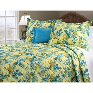 Ocean View Queen Quilt 4 PC Set