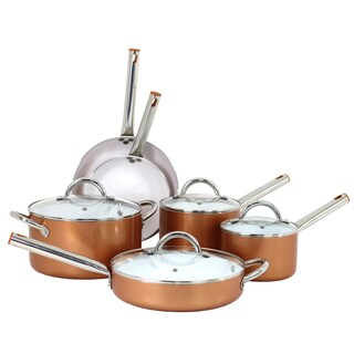 Oneida 10-pc Forged Aluminum Cookware Set w/ Ceramic Coating