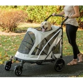 Pet Gear Expedition No-Zip Pet Stroller