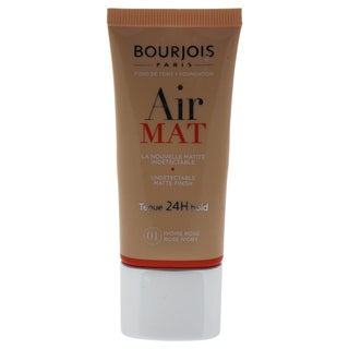 Bourjois Air Mat Undetectable Matte Finish 24H Foundation 01 Rose Ivory