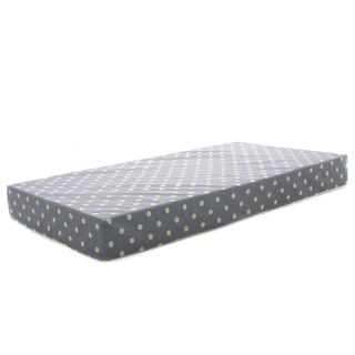 "Milliard Hypoallergenic Baby Crib Mattress or Toddler Bed Mattress With Waterproof Cover - 27.5""x52""x5"""