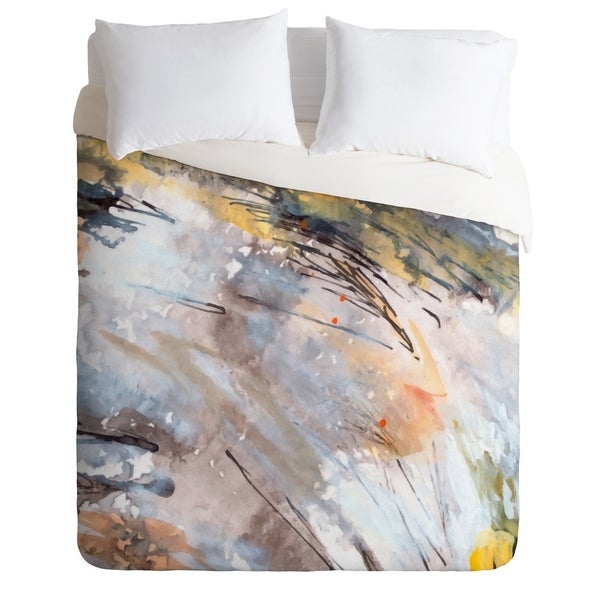 Ginette Fine Art Feathers In The Wind Duvet Cover Set. Opens flyout.
