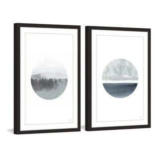Marmont Hill - Handmade Two Views Diptych