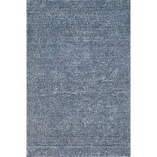 Elle Denim Hand-tufted Shag Rug (5' x 7'6)