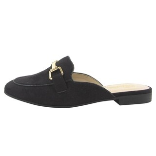 Paprika FM13 Women's Slip On Backless Flat Heel Loafer Mules (More options available)