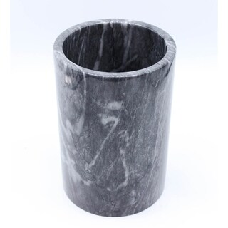 Multi-purpose cylindrical marble container