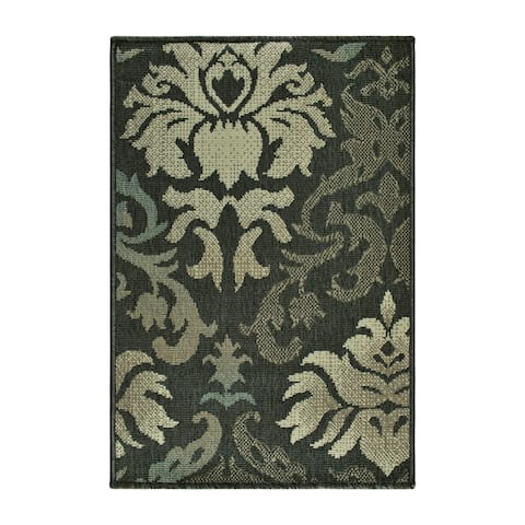 Superior Designer Lowell Indoor/Outdoor Area Rug collection (2' X 3') - 2' x 3'