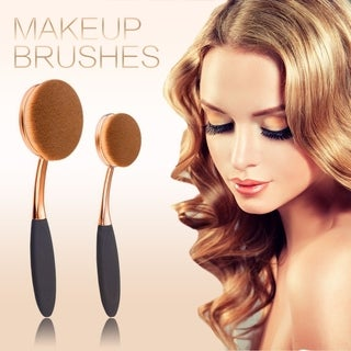 Belsion Profesional Oval Makeup Toothbrush Set 10pcs