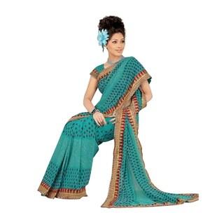 Bansari Designer Party Wear Georgette Sari Saree
