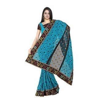 Bhagwanti Georgette Indian Sari saree with Embroidery