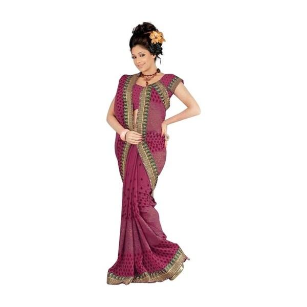 Banni Designer Party Wear Georgette Sari Saree
