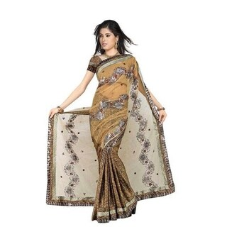 Chanchal Georgette Indian Sari saree with Embroidery