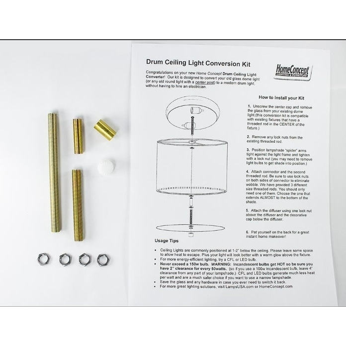 14 Moderne Flush Mount Converter Kit Granite Grey Burlap Hardback Drum Lampshade 14x14x7 Overstock 18743388
