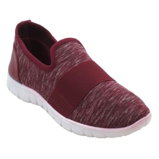 Blue Womens BUGSY-HEATHER Casual Fashion Sneakers Breathable Athletic Sports Shoes
