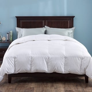St. James Home 700 Thread Count Cotton Heavy Fill White Goose Down Comforter