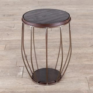 Iron and Mango Wood Round Metal Stool/End Table|https://ak1.ostkcdn.com/images/products/18744855/P24818504.jpg?impolicy=medium