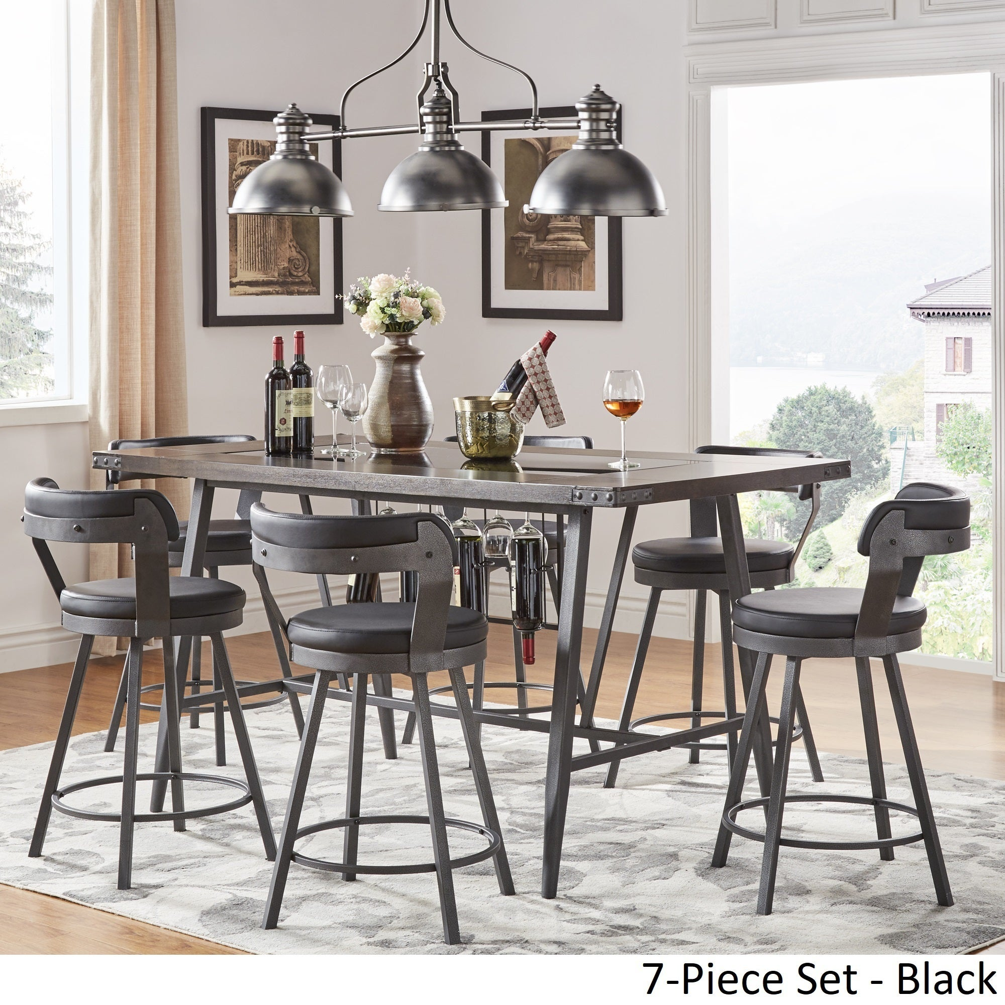 Dining Room Table With Wine Rack Images Dining Table Ideas : Harley Counter Height Dining Set with Wine Rack by iNSPIRE Q Modern 9750e6db b47e 44fa 84cc c2a03e730340 from sorahana.info size 2000 x 2000 jpeg 736kB