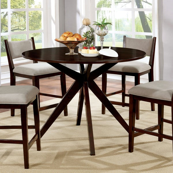 Shop Furniture Of America Kiara Mid-Century Modern Brown