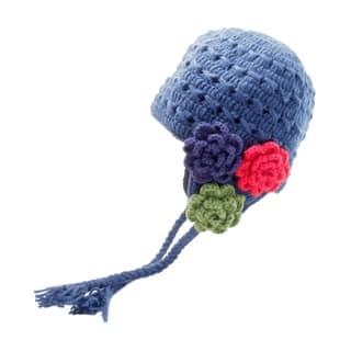 Crochet 3 Flower Earflap|https://ak1.ostkcdn.com/images/products/18753407/P24825883.jpg?impolicy=medium