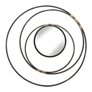 Aurelle Home Whirlpool Multi Metal Mirror Decor