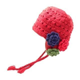 Crochet 3 Flower Earflap|https://ak1.ostkcdn.com/images/products/18753488/P24825878.jpg?impolicy=medium