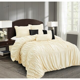Everrouge Mia All Season Silk 7-pc Comforter