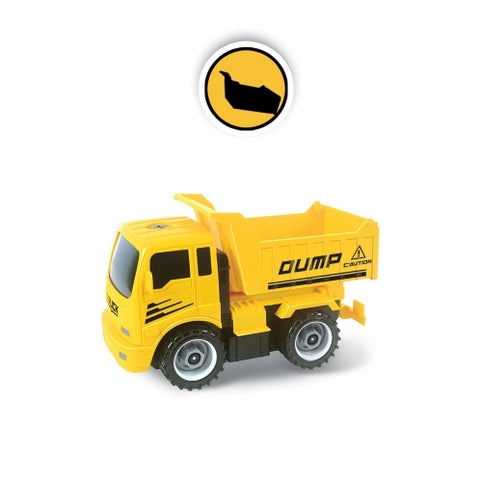Construct A Truck- Dump. Take apart and put back together, like 2-toys-in-1