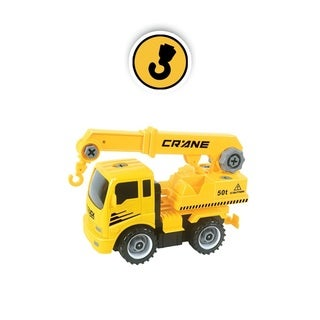 Construct A Truck - Crane. Take apart and put back together, like 2-toys-in-1