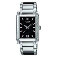 Casio Men's MTP-1235D-1A 'Classic' Stainless Steel Watch - Black