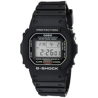 Casio Men's DW5600E-1 'G-Shock' Digital Black Resin Watch - CLEAR|https://ak1.ostkcdn.com/images/products/18753653/P24826077.jpg?impolicy=medium