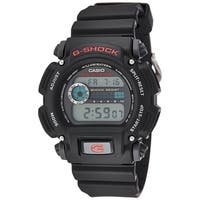 Casio Men's  'G-Shock' Digital Black Resin Watch