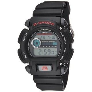 Casio Men's DW9052-1 'G-Shock' Digital Black Resin Watch