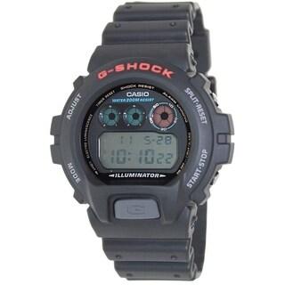 Casio Men's DW6900-1 'G-Shock' Digital Black Resin Watch